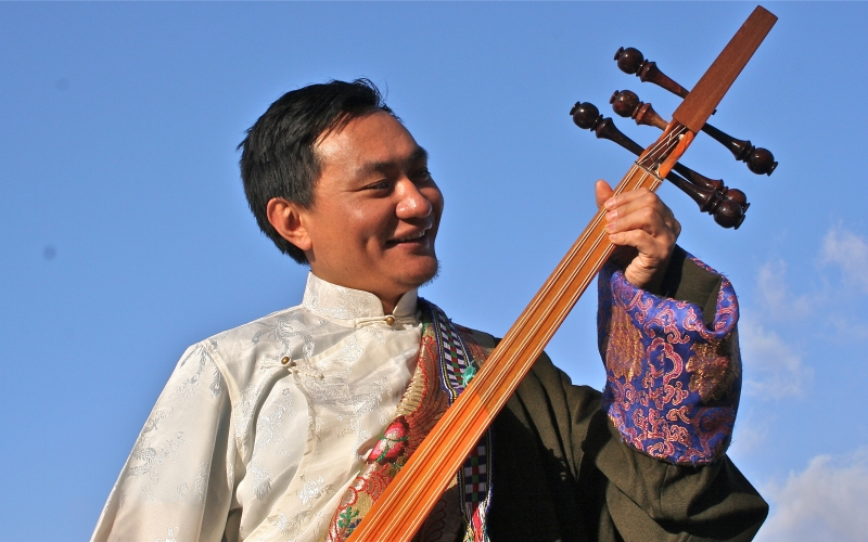 Ngawang Lodup, discovered by BBC Introducing, to appear at WOMAD