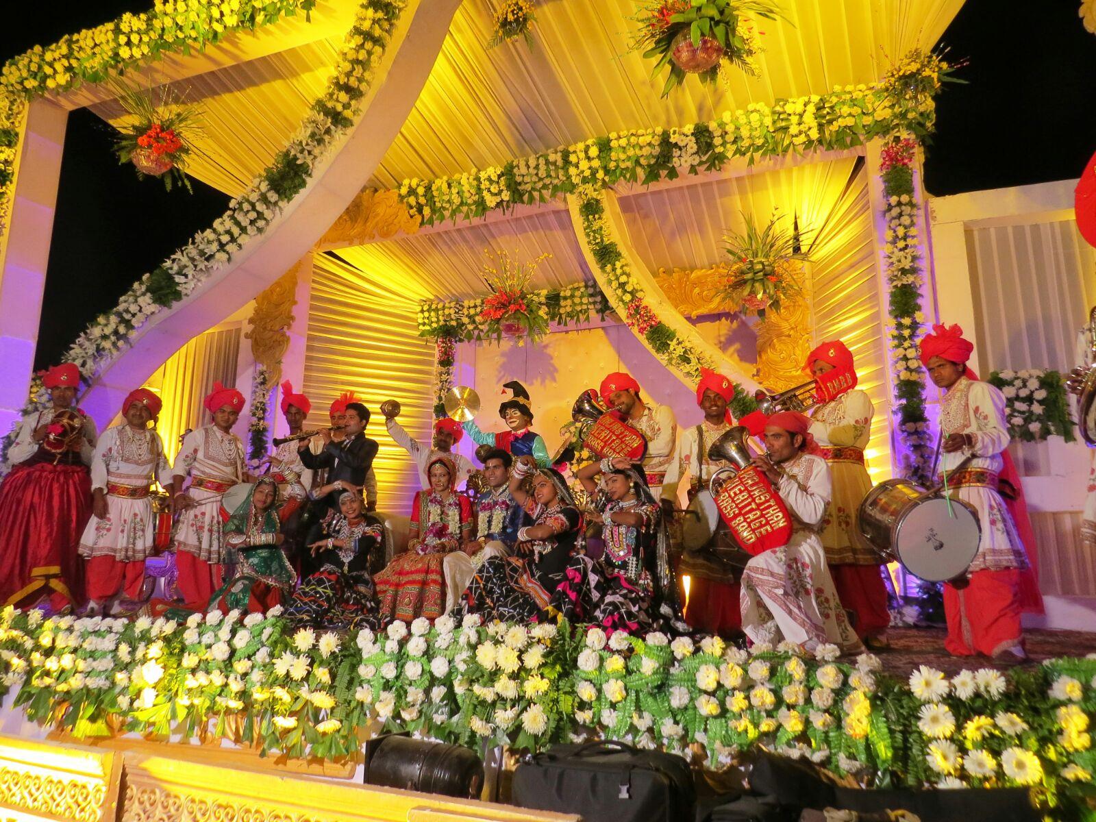 Rajasthan's elite brass band visit Cornerstone, Didcot on 16 September