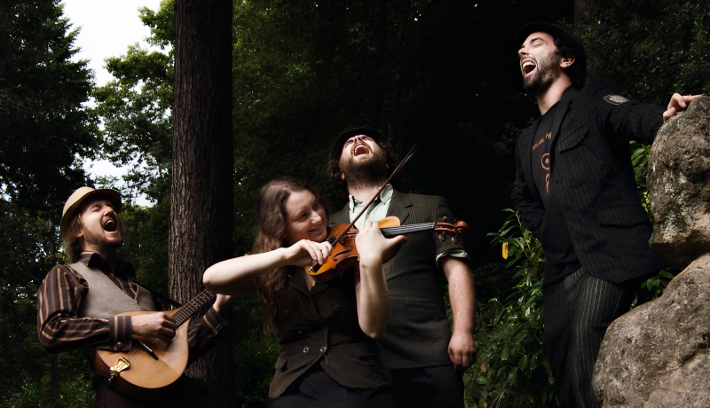 The Crooked Fiddle Band, from Oz to AAA
