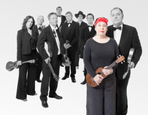 The Ukes celebrate the life of founder Kitty Lux at The Barbican on 25 January