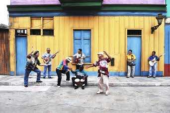 Cumbia All Stars –  fROOTS cover stars!