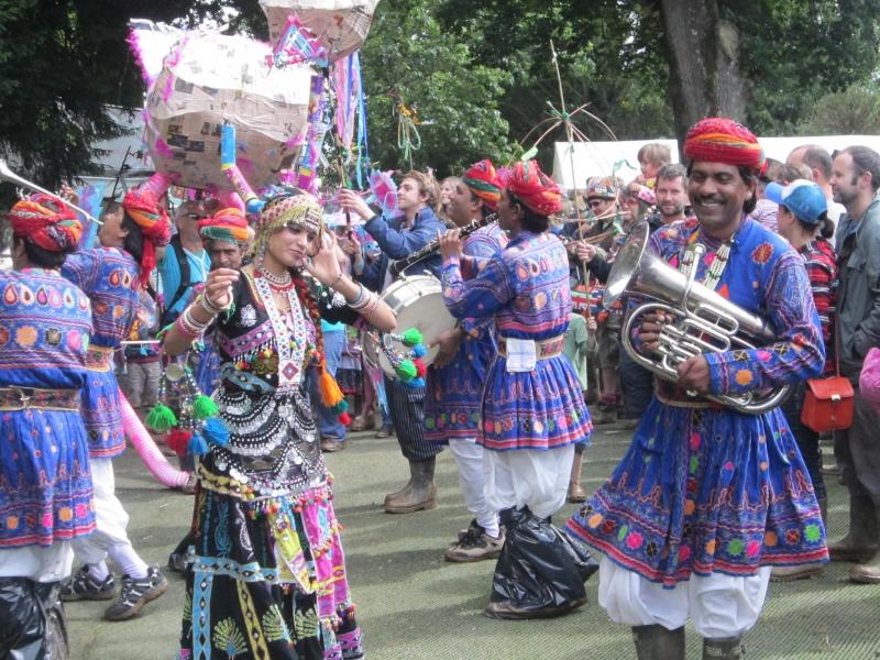 Jaipur Kawa Brass Band feature in new BBC Radio2 Series